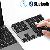 Pavé numérique sans Fil Bluetooth 34 Touches Compatible iMac, MacBook Air, MacBook Pro, MacBook, et Mac Mini, etc. Noir