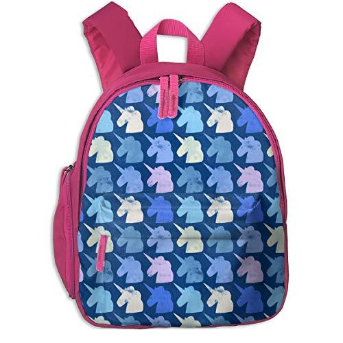 Zaino per bambini 2 anni,Salvar A Los Unicornios 1000_5409-lisabarbero,For children's schools Oxford cloth (pink)