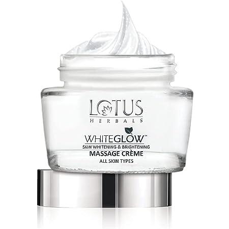Lotus Herbals Whiteglow Skin Whitening And Brightening Massage Creme, 60g