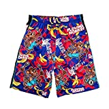 Flow Society Boys' Big Flowing Monkey Shorts, Blue, Large