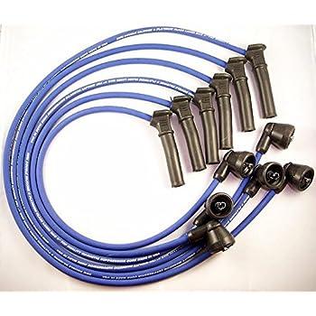 Spark Ignition Plug Wire Set fit for 2001-2003 Ford Explorer 2002-2003 Ford Explorer Sport Trac 2001-2005 Ford Ranger Mazda B4000 8mm V6 4.0L ST-6114
