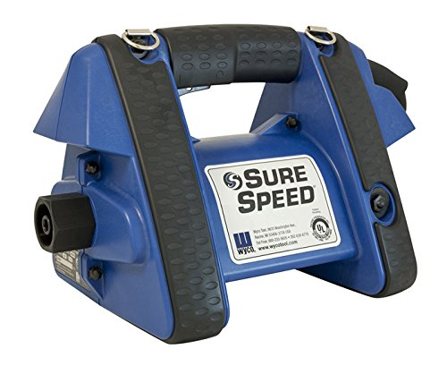 Wyco WSG2 SureSpeed Electric Concrete Vibrator Motor, 230V, 2-Wire, 3-Wire, Grounded Constant Speed Works with All Wyco Flexible Shafts