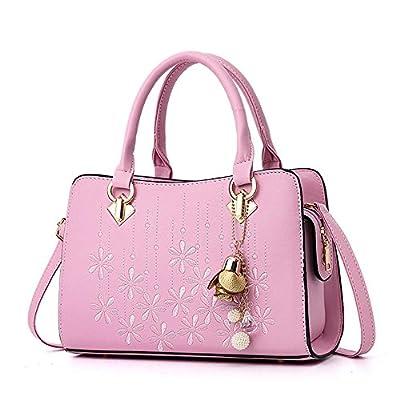 Women Top Handle Satchel Handbags OxsOy Fashion Leather Bags Shoulder Crossbody Purses Bags