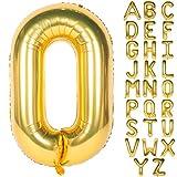 Letter Balloons 40 Inch Giant Jumbo Helium...