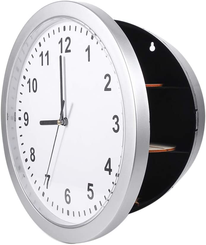 SunshineFace Hidden latest Secret Wall Clock for M Container Max 46% OFF Safe Box