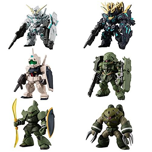 FW GUNDAM CONVERGE 機動戦士ガンダムUC SPECIAL SELECTION 【全6種フルセット (フルコンプ)】 ※10個入りのBOX販売ではありません。 食玩・ガム (機動戦士ガンダムシリーズ)