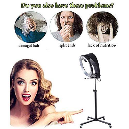 LAW Vertical Chauffage Salon de Coiffure Sèche-Cheveux Perm Machine De Chauffage De La Machine avec Support et Quatre Roues pour Salon De Coiffure
