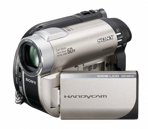 Sony DCR-DVD150E DVD-Camcorder (DVD und Memory Stick, 60-fach optischer Zoom, 2,7