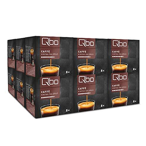 Tchibo Qbo Caffè Kinyaa Galeras Kapseln, 144 Stück – 18 x 8 Kapseln (Kaffee, facettenreich und aromatisch)
