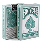 Bicycle Playing Cards 6 Deck Bundle Fashion Teal Design 6 Decks Official Bicycle