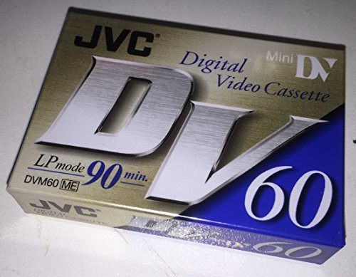 JVC M-DV60ME Video cassette 90 min 1 pieza(s) - Cinta de audio/video (90 min, 1 pieza(s))