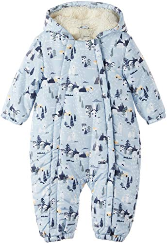 NAME IT Baby Jungen Schneeoverall Wagenanzug NBMMOW Suit, Größe:62-68, Farbe:Celestial Blue