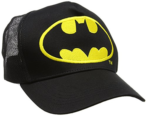 Batman Unisex Logo Baseball Cap, schwarz, One Size