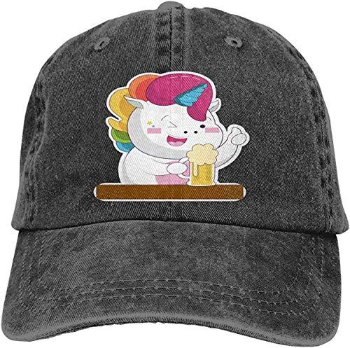 Missfortune Netter Einhorn-Baby-liebevoller Bier-Hut-Unisexstilvoller Sport-justierbare Cowboy Cap Baseball Cap