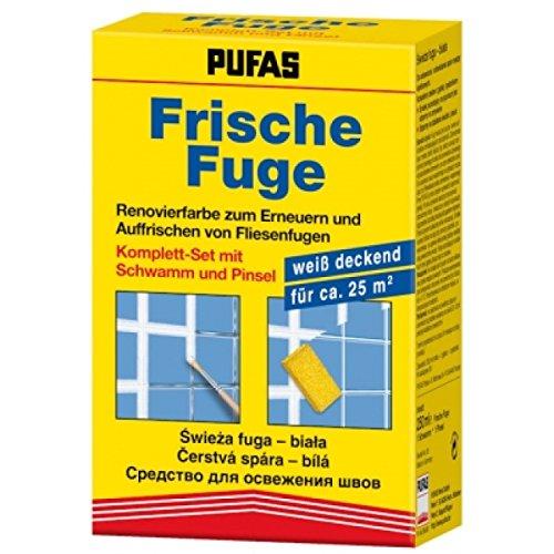 Pufas Frische Fuge Fugenfarbe 250 ml Komplett-Set
