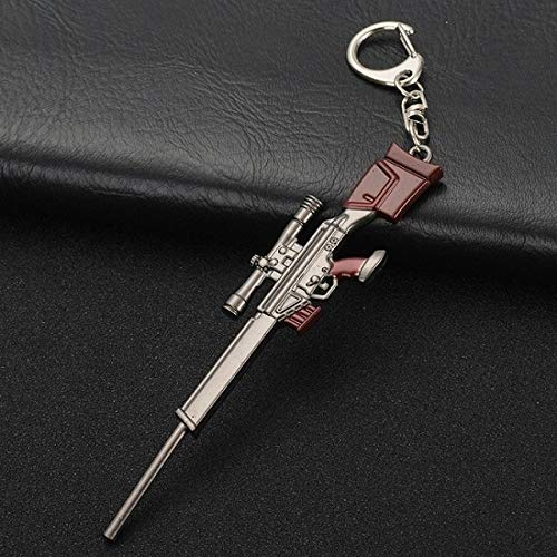 VYZSD Keychain Game Grounds de Battle Player Unknown 3D keychain wapen eten kip spel in deze nacht sleutelhanger voor mannen