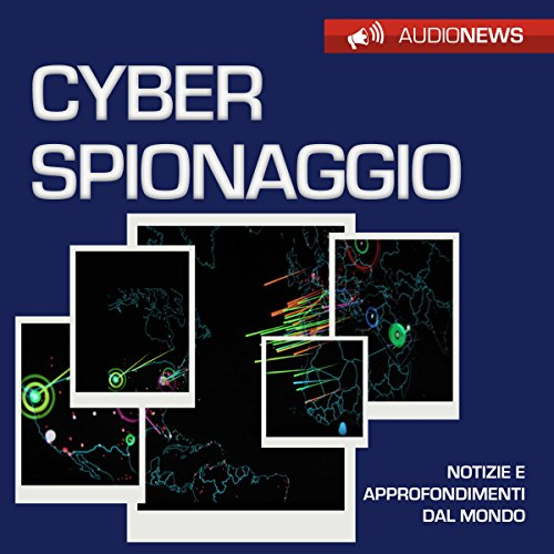 Cyberspionaggio audiobook cover art