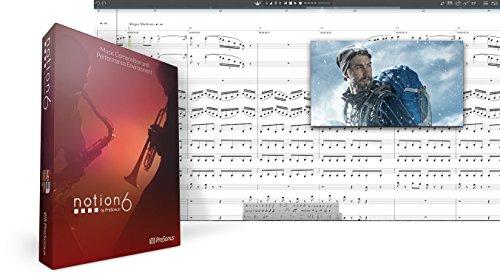 Presonus Notion 6 Music Notation Software DNLD BOX