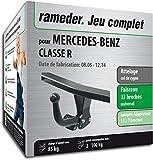 Attelage démontable avec Outil pour Mercedes-Benz Classe R + Faisceau 13 Broches...