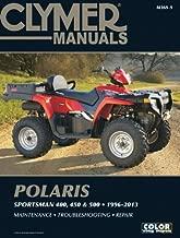 Polaris Sportsman 400, 450 & 500 1996-2013 Manual (Clymer Manuals)
