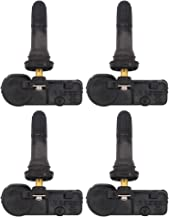 NewYall Pack of 4 Black 315MHz TPMS Tire Pressure Monitoring System Sensors