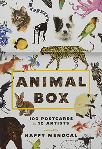 Animal Box: 100 Postcards by 10 Artists