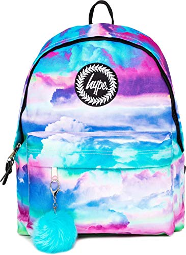 Hype Cloud Hues Pom Pom Backpack Bag Multi