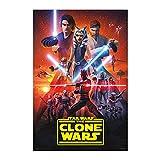 Grupo Erik Star Wars Poster The Clone Wars Staffel 7 -