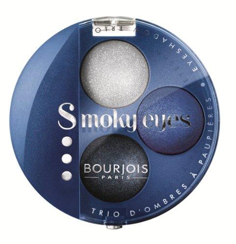 Bourjois Smoky Eyes Trio Lidschatten, 1er Pack (1 x 40 ml)