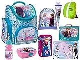 Disney Frozen II Eiskönigin 2 Schulranzen Set Schultüte Ranzen Federmappe Turnbeutel Tischunterlage Brotdose Trinkflasche Frozen Lizenz 9 Teile