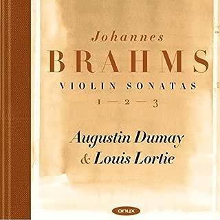 Brahms: Violin Sonatas Nos.1-3, FAE Sonata - Scherzo WoO2 by Augustin Dumay
