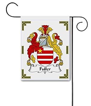 Carpe Diem Designs Fuller Coat of Arms/Fuller Family Crest 11 X 15 Garden Flag – Made in The U.S.A.