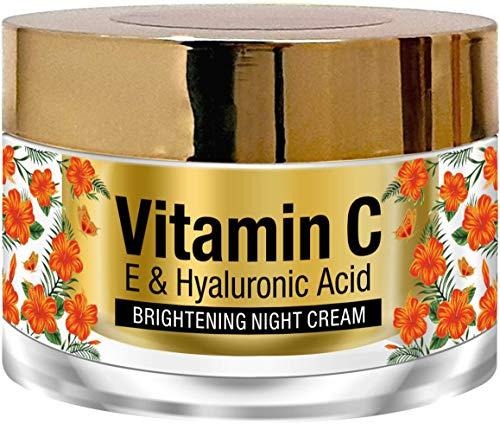 St. Botanica Vitamin C, E & Hyaluronic Acid Night Cream