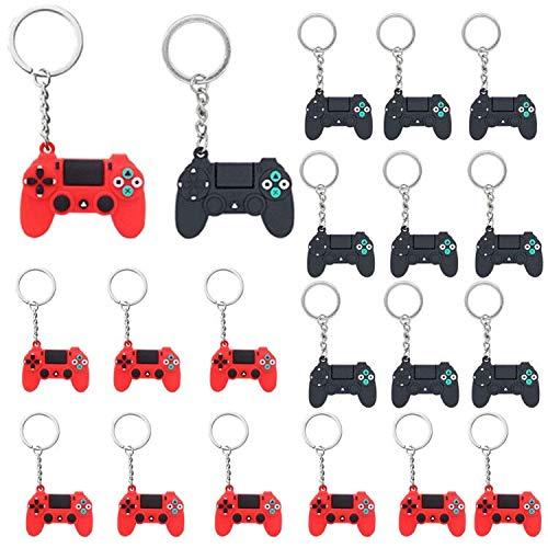 20 Piezas Llaveros de Controlador de Videojuegos Dijes...