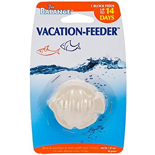 Penn-Plax 14 Days Vacation Auto Feeder Fish Shape PB Feeding Blocks 40g