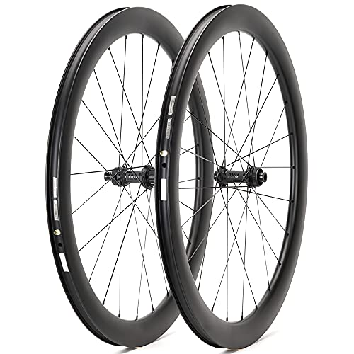 Bikewish DT Swiss 180 Disc - Frenos de disco para bicicleta de carretera (carbono, 700 C, con bloqueo central, 100 x 12, 142 x 12)