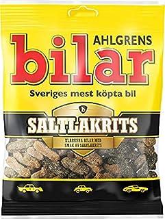 10 pack of 100g Ahlgrens Lakritz-Autos - Salta Bilar -Salt Lakrits