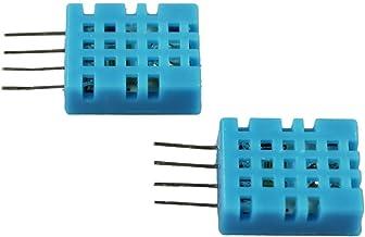 com-four® Sensor Digital de Humedad y Temperatura 2X DHT11 Sensor para Raspberry y Arduino (DHT11-2 Piezas)