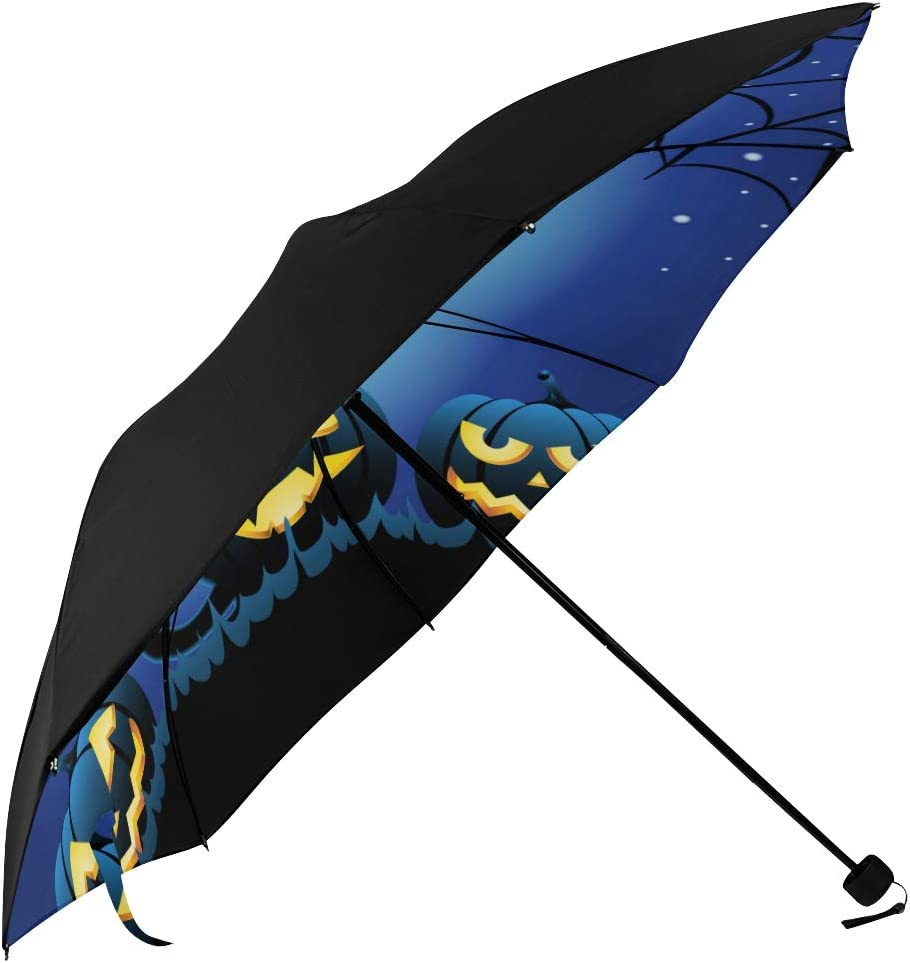 Foldable Great interest Umbrella Ranking TOP19 For Travel Halloween Pumpkin Cat Evil With Und