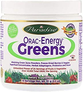 Sponsored Ad - ORAC Energy Greens 15 SRV Trial Size New