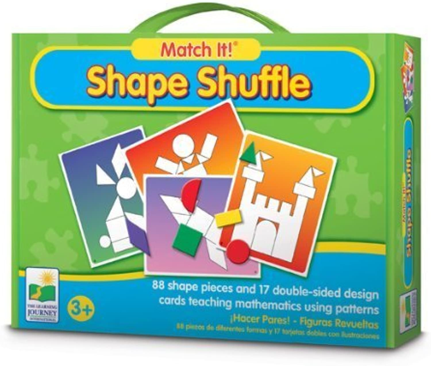 The Learning Journey Match It  Shape Shuffle by The Learning Journey International [Toy]