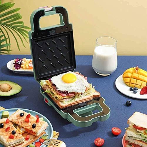 Tostadoras de sándwich Tostadora de bocadillos Caliente, máquina Profesional para Hacer gofres de Huevos, Tostadas para Parrilla de Camping