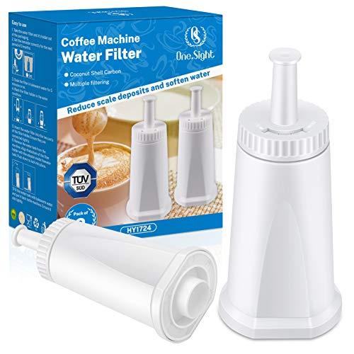Kohree 2PCS Wasserfilter für BES008 Filter SES810/SES880/SES920/SES980/SES990/SES878/SES500 Filter Zubehör Wasserfilterpatronen für Oracle Barista Bambino usw. für verbessern des Kaffeegeschmacks