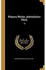 Platons Werke. Achtzehnter Theil.: 18 Capa dura