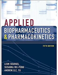 L.Shargel's S. Wu-Pong's A. Yu's 5th (Fifth) edition Applied Biopharmaceutics & Pharmacokinetics [Hardcover](2004)