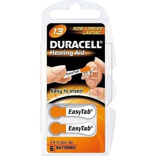 Duracell pR41 13 (pR48)-lot de 6