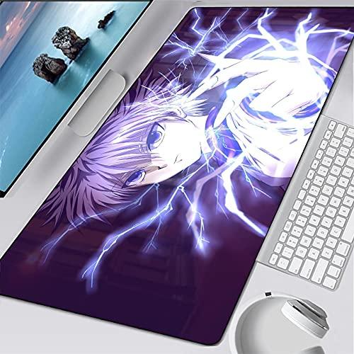 alfombrilla de ratón xl 600x300x3mm -Con costuras de borde, fuertes y duraderas alfombrillas de ratón de anime grandes para juegos, alfombrilla para teclado XXL, alfombrilla para escritorio para PC Ch