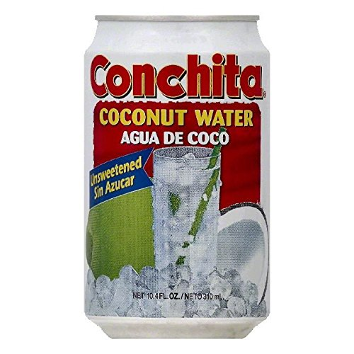 Conchita Unsweetened Coconut Water , size 10.5 oz (Pack of 24)