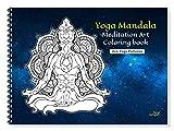 Yoga Mandala Meditation Art Coloring Book for Adults (Calming Mandala Zen Patterns)