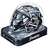 Franklin Sports Eishockey-Sammelartikel Torwart-Helm Mini, Design: Logo Einer NHL-Mannschaft, Unisex, 7784F12, weiß
